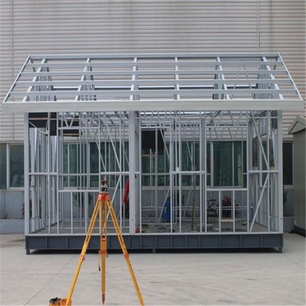 Acero estructural de casa prefabricada - Casas de acero precios ...